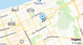 Пермский авиационный техникум имени А.Д. Швецова на карте