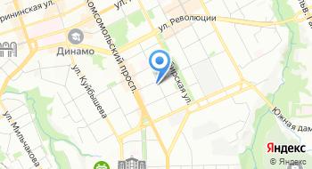 Студия М на карте
