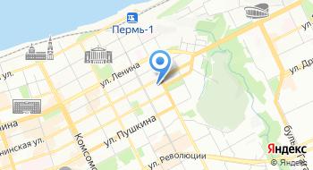 Пермский Краевой Суд на карте