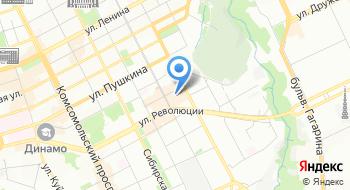 Гипермаркет на карте