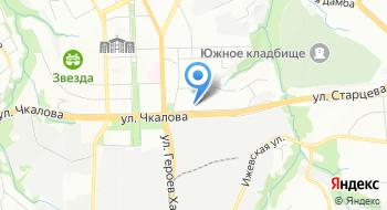 Туристическая деревня Заречное, офис на карте