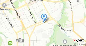 Лазер Пермь на карте