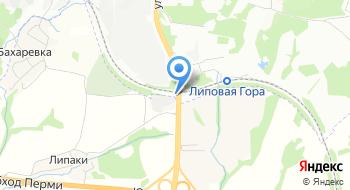 Комлес на карте