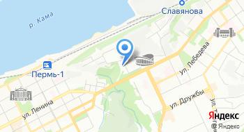 Агентство по делам архива Пермского края на карте