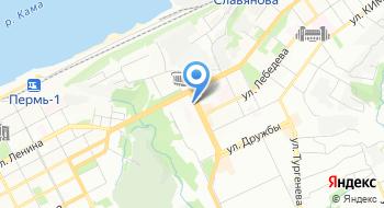 Отделение почтовой связи Пермь 614060 на карте