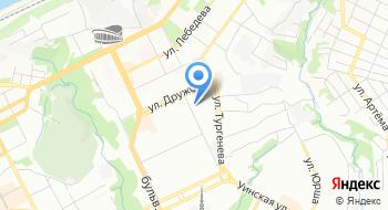 Диланс на карте
