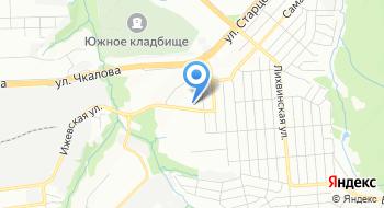 Отдел УФМС России по Пермскому краю в Свердловском районе г. Перми на карте