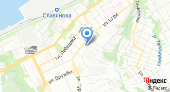 Магазин канцтоваров Кнопка на карте