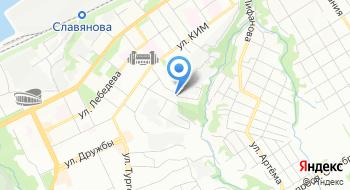 Специализированная детско-юношеская спортивная школа олимпийского резерва по спортивному ориентированию №3 города Перми на карте