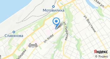 Первый Травмпункт Мотовилихинский район на карте