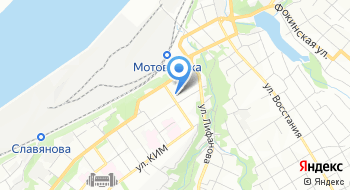 Отдел гражданской защиты по Мотовилихинскому району на карте