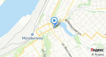 Мотовилихинский районный отдел занятости населения г. Перми на карте