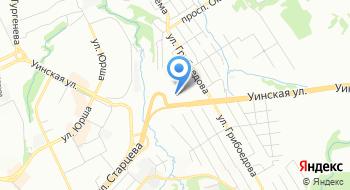 Сервисный центр Элком Регионального представительства Анод на карте
