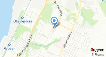 Отделение почтовой связи Пермь 614056 на карте
