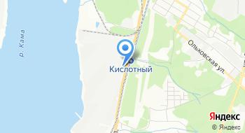 Пермское локомотиворемонтное депо на карте