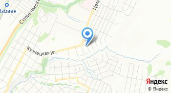 Пермь Великая на карте