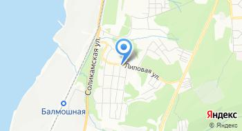 Отделение почтовой связи Пермь 614054 на карте