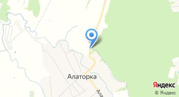 Алаторский Домостроительный комбинат на карте