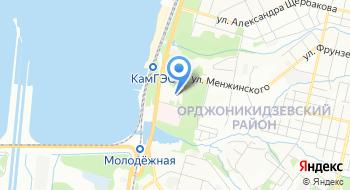 Стоматологическая поликлиника №4 Орджоникидзевского района на карте