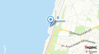 Порт Лёвшино на карте