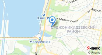 ГБУЗ Пермского края Медсанчасть №6 на карте