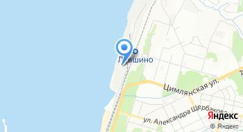 Грузовой порт на карте