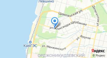 Детская городская поликлиника №3, Поликлиника №1 на карте