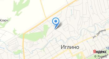 Иглино-Водоканал, МУП на карте