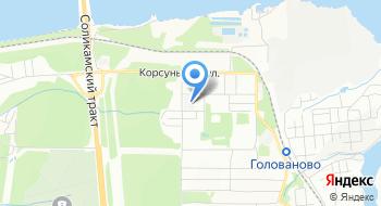 Пермь НИИБ на карте
