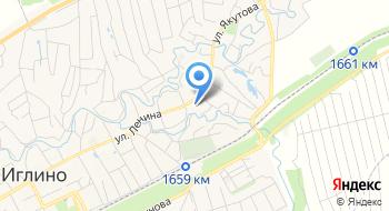 Серебряный рожок, загородный гостиничный комплекс на карте