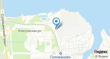 Пермская целлюлозно-бумажная компания на карте