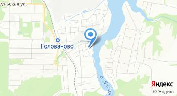 Лодочная база Мотор на карте