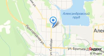Краеведческий музей г. Александровска на карте