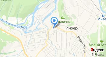 МОБУ ДОД ДЮСШ с. Инзер на карте