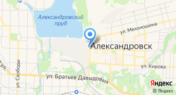 Александровский машиностроительный завод на карте