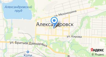 Детская школа Искусств г. Александровска на карте