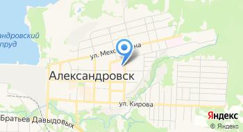 Александровская Центральная Городская больница Хирургический Корпус на карте