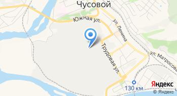 Чусовской Металлургический завод на карте