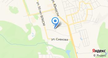 Гимназия, г. Чусовой на карте