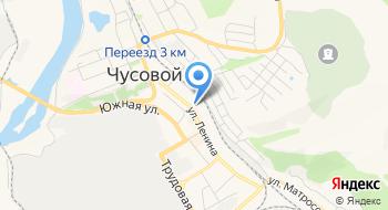 Управление жилищно-коммунального хозяйства Администрация Чусовского городского поселения на карте