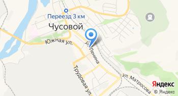Пальмира на карте