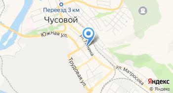 Отделение УФМС России по Пермскому краю в г. Чусовой на карте
