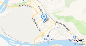 Отделение почтовой связи Всесвятский 618232 на карте