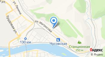 Линейное отделение полиции на станции Чусовская Пермского линейного отдела МВД России на транспорте на карте