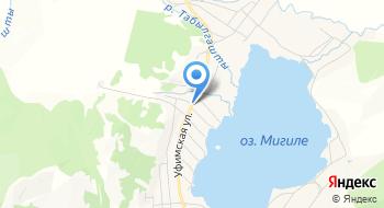 Газпром газораспределение Уфа, филиал в г. Учалы, Миндякская комплексная служба на карте