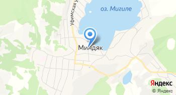 Миндякская автостанция на карте