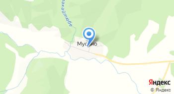 Аквамарин, сауна на карте
