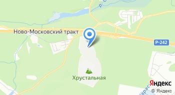 Карьер Гора Хрустальная на карте