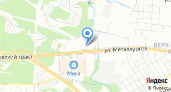 Крупномеры Урала на карте