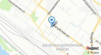 Свердловская железная дорога на карте